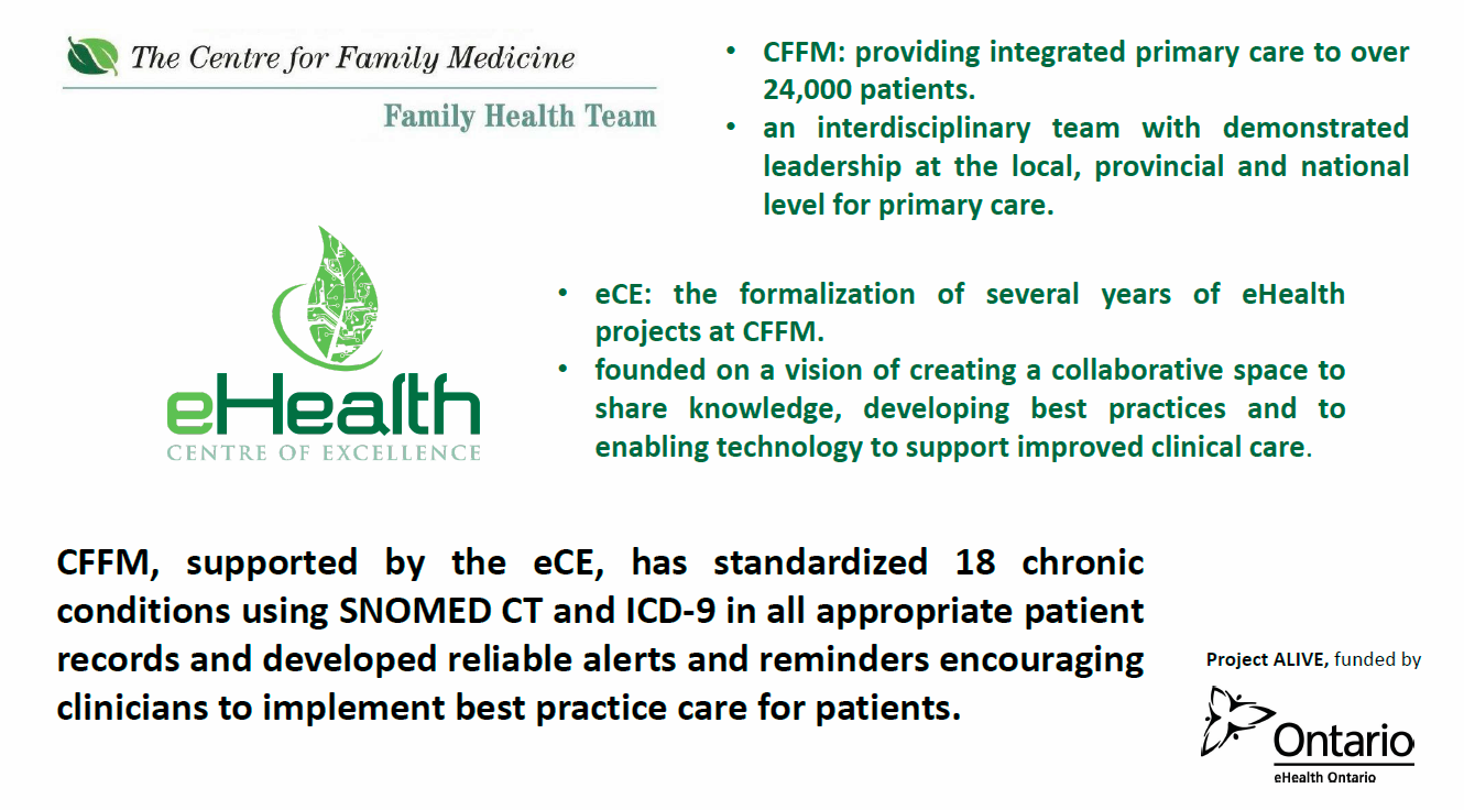The Centre for Family Medicine - eHealth Centre of