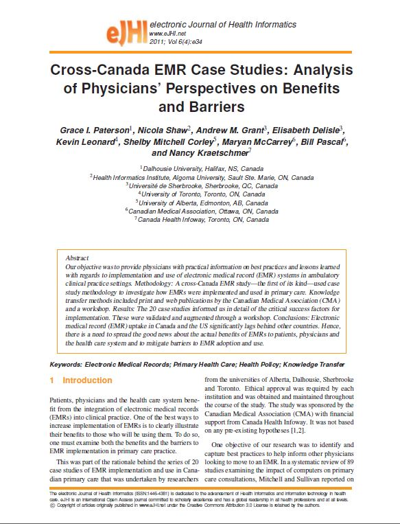 EHR Case Studies | Health IT Buzz
