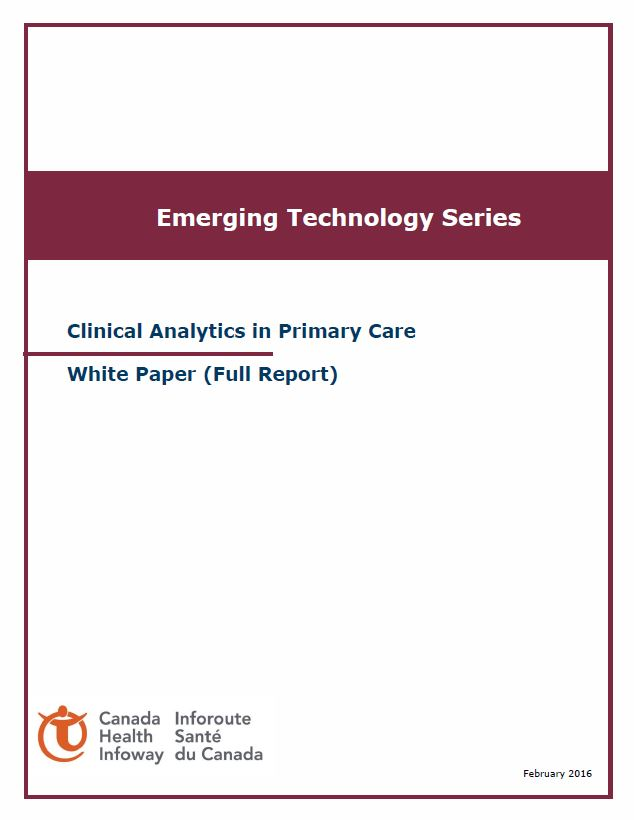 clinical analytics in primary care white paper full report