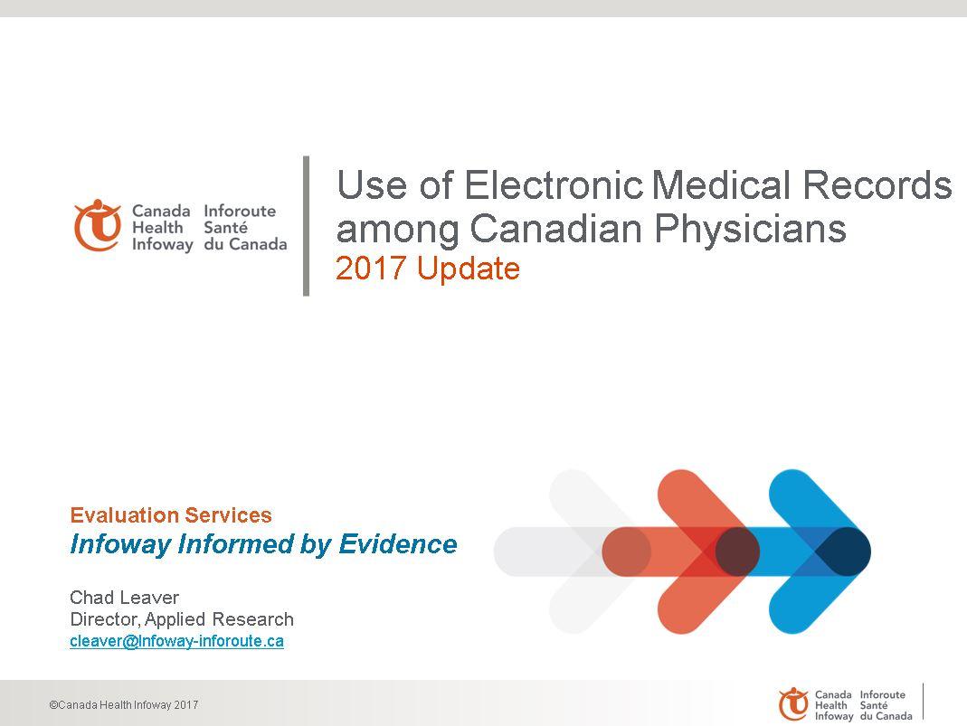2017 CMA Workforce Survey – Digital Health Results | Canada Health ...