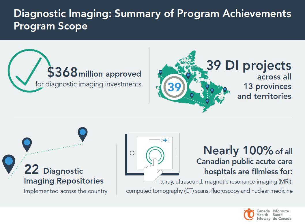 Infographic Diagnostic Imaging Summary Of Program Achievements